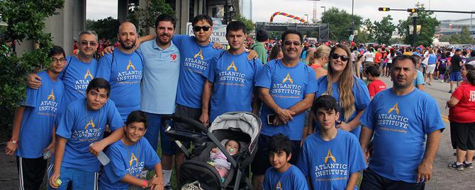Volunteers Support Heart Walk | 2016